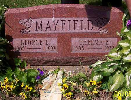 MAYFIELD, THELMA E. - Stark County, Ohio | THELMA E. MAYFIELD - Ohio Gravestone Photos