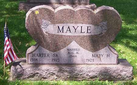 MAYLE, MARY H. - Stark County, Ohio | MARY H. MAYLE - Ohio Gravestone Photos