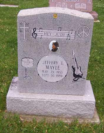MAYLE, JEFFERY L. - Stark County, Ohio | JEFFERY L. MAYLE - Ohio Gravestone Photos