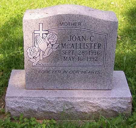 MCALLISTER, JOAN C. - Stark County, Ohio | JOAN C. MCALLISTER - Ohio Gravestone Photos