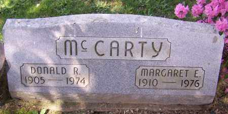 MCCARTY, DONALD R. - Stark County, Ohio   DONALD R. MCCARTY - Ohio Gravestone Photos