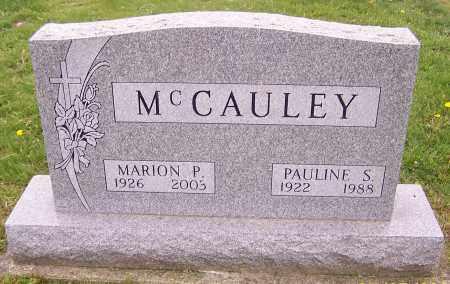 MCCAULEY, PAULINE S. - Stark County, Ohio | PAULINE S. MCCAULEY - Ohio Gravestone Photos