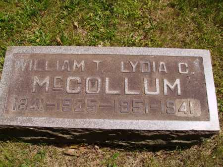 MCCOLLUM, WILLIAM THOMAS - Stark County, Ohio | WILLIAM THOMAS MCCOLLUM - Ohio Gravestone Photos