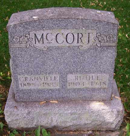 KECK MCCORT, RUTH E. - Stark County, Ohio | RUTH E. KECK MCCORT - Ohio Gravestone Photos
