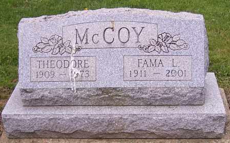 MCCOY, THEODORE - Stark County, Ohio | THEODORE MCCOY - Ohio Gravestone Photos