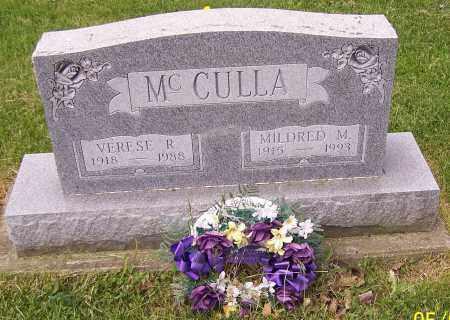 MCCULLA, VERESE R. - Stark County, Ohio | VERESE R. MCCULLA - Ohio Gravestone Photos