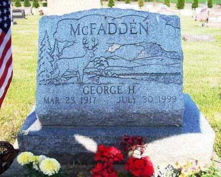 MCFADDEN, GEORGE H. - Stark County, Ohio | GEORGE H. MCFADDEN - Ohio Gravestone Photos