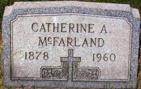MCFARLAND, CATHERINE A. - Stark County, Ohio | CATHERINE A. MCFARLAND - Ohio Gravestone Photos