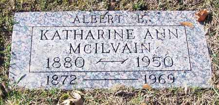 MCILVAIN, KATHARINE - Stark County, Ohio | KATHARINE MCILVAIN - Ohio Gravestone Photos
