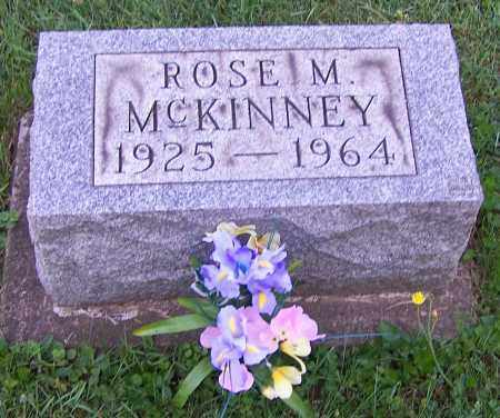 MCKINNEY, ROSE M. - Stark County, Ohio   ROSE M. MCKINNEY - Ohio Gravestone Photos
