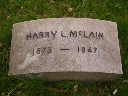 MCLAIN, HARRY L. - Stark County, Ohio | HARRY L. MCLAIN - Ohio Gravestone Photos