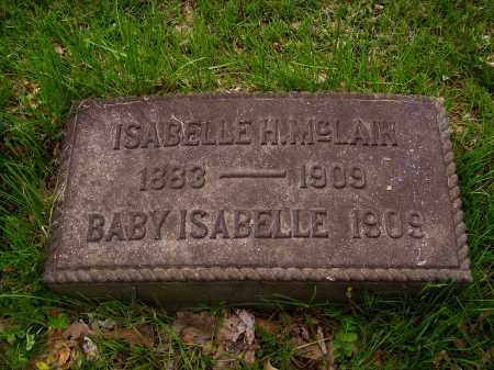 HUMBERGER MCLAIN, ISABELLE H. - Stark County, Ohio   ISABELLE H. HUMBERGER MCLAIN - Ohio Gravestone Photos