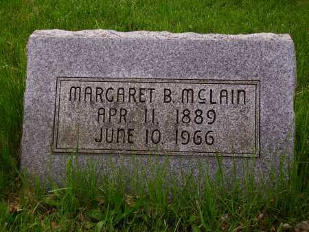 MCLAIN, MARGARET B. - Stark County, Ohio | MARGARET B. MCLAIN - Ohio Gravestone Photos