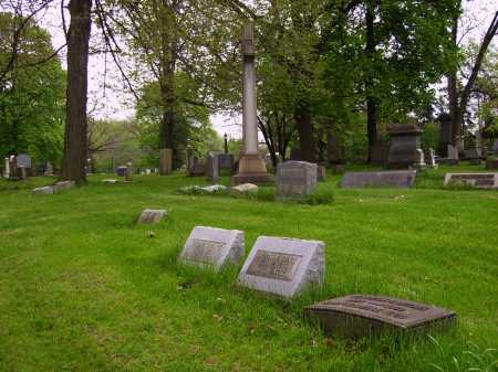 MCLAIN MOUNMENT, OVER ALL VIEW #2 - Stark County, Ohio | OVER ALL VIEW #2 MCLAIN MOUNMENT - Ohio Gravestone Photos