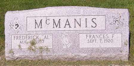 "MCMANIS, FREDERICK ""AL"" - Stark County, Ohio | FREDERICK ""AL"" MCMANIS - Ohio Gravestone Photos"