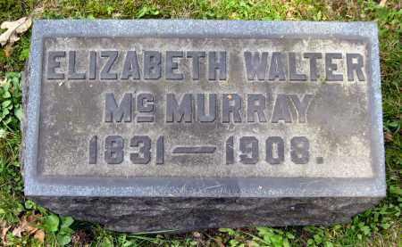 WALTER MCMURRAY, ELIZABETH - Stark County, Ohio | ELIZABETH WALTER MCMURRAY - Ohio Gravestone Photos