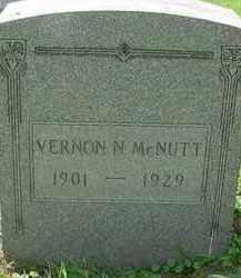 MCNUTT, VERNON N - Stark County, Ohio   VERNON N MCNUTT - Ohio Gravestone Photos