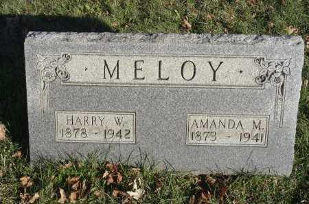MELOY, HARRY W. - Stark County, Ohio | HARRY W. MELOY - Ohio Gravestone Photos