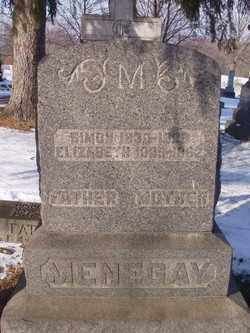 MENEGAY, ELIZABETH - Stark County, Ohio | ELIZABETH MENEGAY - Ohio Gravestone Photos