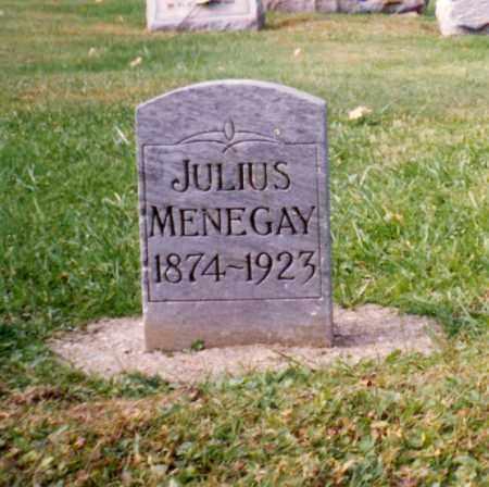 MENEGAY, JULIUS - Stark County, Ohio | JULIUS MENEGAY - Ohio Gravestone Photos