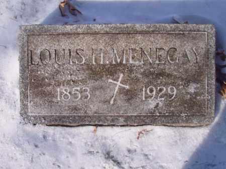 MENEGAY, LOUIS  H. - Stark County, Ohio   LOUIS  H. MENEGAY - Ohio Gravestone Photos