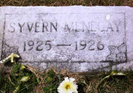 MENEGAY, SYVERN - Stark County, Ohio   SYVERN MENEGAY - Ohio Gravestone Photos
