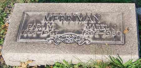 MERRIMAN, MABLE J. - Stark County, Ohio | MABLE J. MERRIMAN - Ohio Gravestone Photos