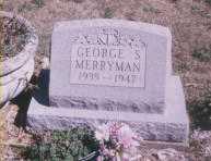 MERRYMAN, GEORGE S. - Stark County, Ohio | GEORGE S. MERRYMAN - Ohio Gravestone Photos