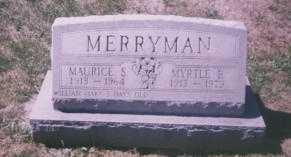 MERRYMAN, MYRTLE B. - Stark County, Ohio | MYRTLE B. MERRYMAN - Ohio Gravestone Photos