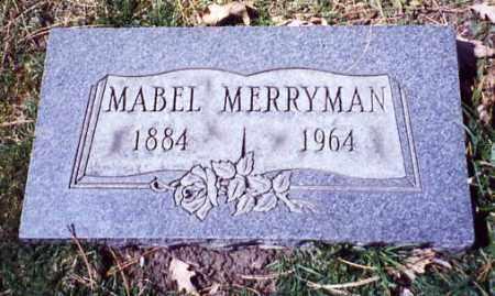 MERRYMAN, MABEL - Stark County, Ohio | MABEL MERRYMAN - Ohio Gravestone Photos