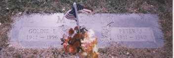 MERVIN, PETER J. - Stark County, Ohio | PETER J. MERVIN - Ohio Gravestone Photos