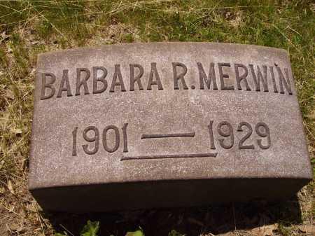 MERWIN, BARBARA R. - Stark County, Ohio   BARBARA R. MERWIN - Ohio Gravestone Photos