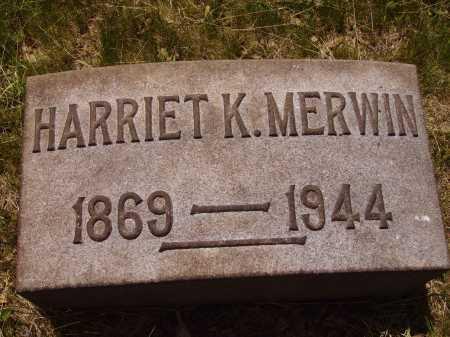MERWIN, HARRIET - Stark County, Ohio | HARRIET MERWIN - Ohio Gravestone Photos