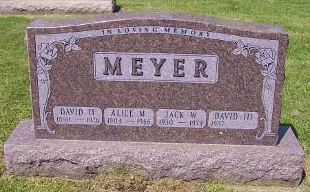 MEYER, ALICE M. - Stark County, Ohio | ALICE M. MEYER - Ohio Gravestone Photos