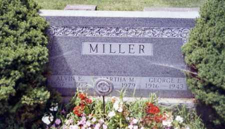 MILLER, GEORGE E. - Stark County, Ohio | GEORGE E. MILLER - Ohio Gravestone Photos