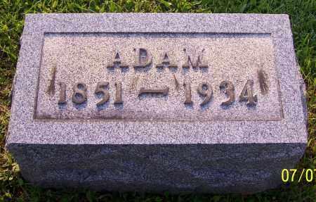 MILLER, ADAM - Stark County, Ohio | ADAM MILLER - Ohio Gravestone Photos