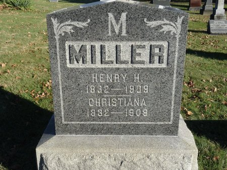 MILLER, CHRISTIANA - Stark County, Ohio   CHRISTIANA MILLER - Ohio Gravestone Photos