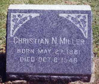 MILLER, CHRISTIAN N. - Stark County, Ohio   CHRISTIAN N. MILLER - Ohio Gravestone Photos
