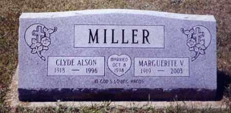 MILLER, CLYDE ALSON - Stark County, Ohio | CLYDE ALSON MILLER - Ohio Gravestone Photos