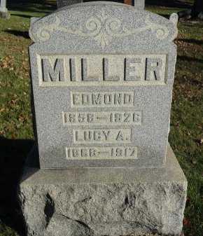 MILLER, EDMOND - Stark County, Ohio | EDMOND MILLER - Ohio Gravestone Photos