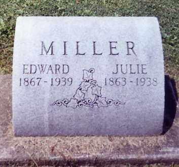 MILLER, EDWARD - Stark County, Ohio | EDWARD MILLER - Ohio Gravestone Photos