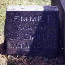 MILLER, EMMET - Stark County, Ohio | EMMET MILLER - Ohio Gravestone Photos