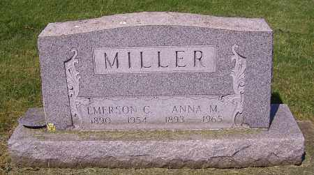MILLER, ANNA M. - Stark County, Ohio   ANNA M. MILLER - Ohio Gravestone Photos