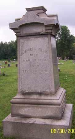 MILLER, ELIZABETH - Stark County, Ohio | ELIZABETH MILLER - Ohio Gravestone Photos