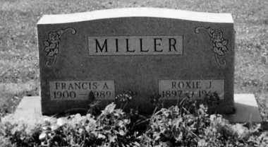 MILLER, FRANCIS A. - Stark County, Ohio | FRANCIS A. MILLER - Ohio Gravestone Photos