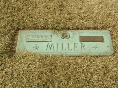 MILLER, HAROLD W. - Stark County, Ohio | HAROLD W. MILLER - Ohio Gravestone Photos