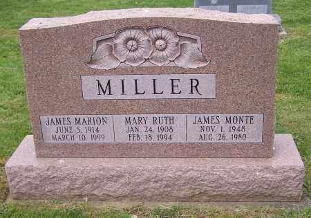 MILLER, MARY RUTH - Stark County, Ohio | MARY RUTH MILLER - Ohio Gravestone Photos