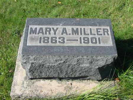 MILLER, MARY A - Stark County, Ohio | MARY A MILLER - Ohio Gravestone Photos