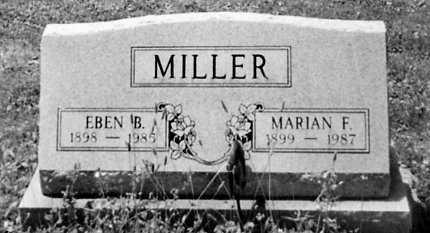 MILLER, MARIAN F. - Stark County, Ohio   MARIAN F. MILLER - Ohio Gravestone Photos