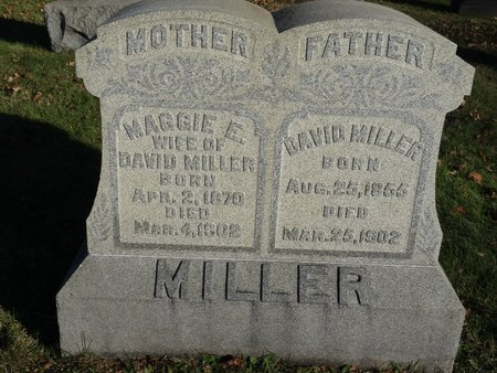 MILLER, MAGGIE E. - Stark County, Ohio | MAGGIE E. MILLER - Ohio Gravestone Photos